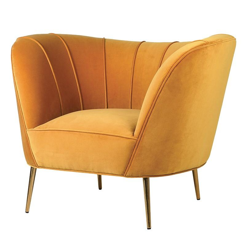 Orish Curved Chair