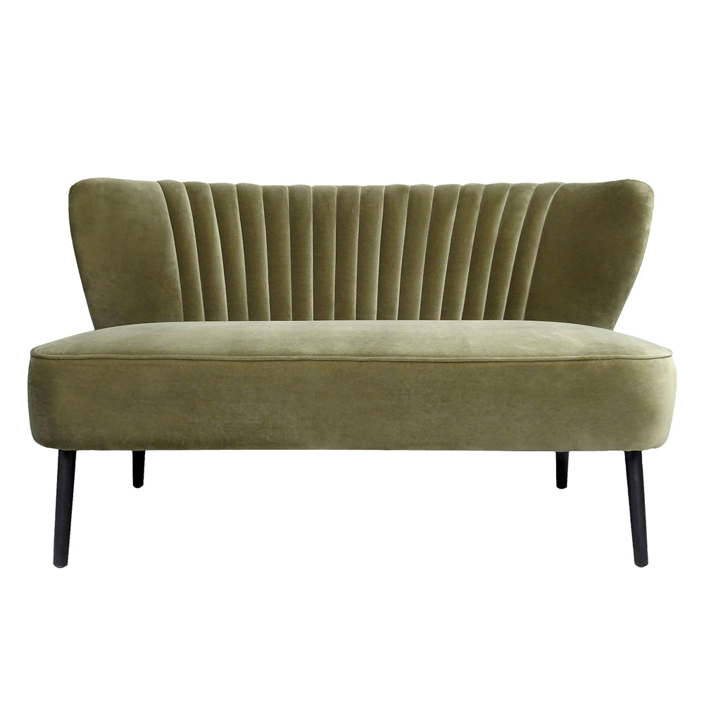 Twiggy Sofa in Meadow Green Velvet