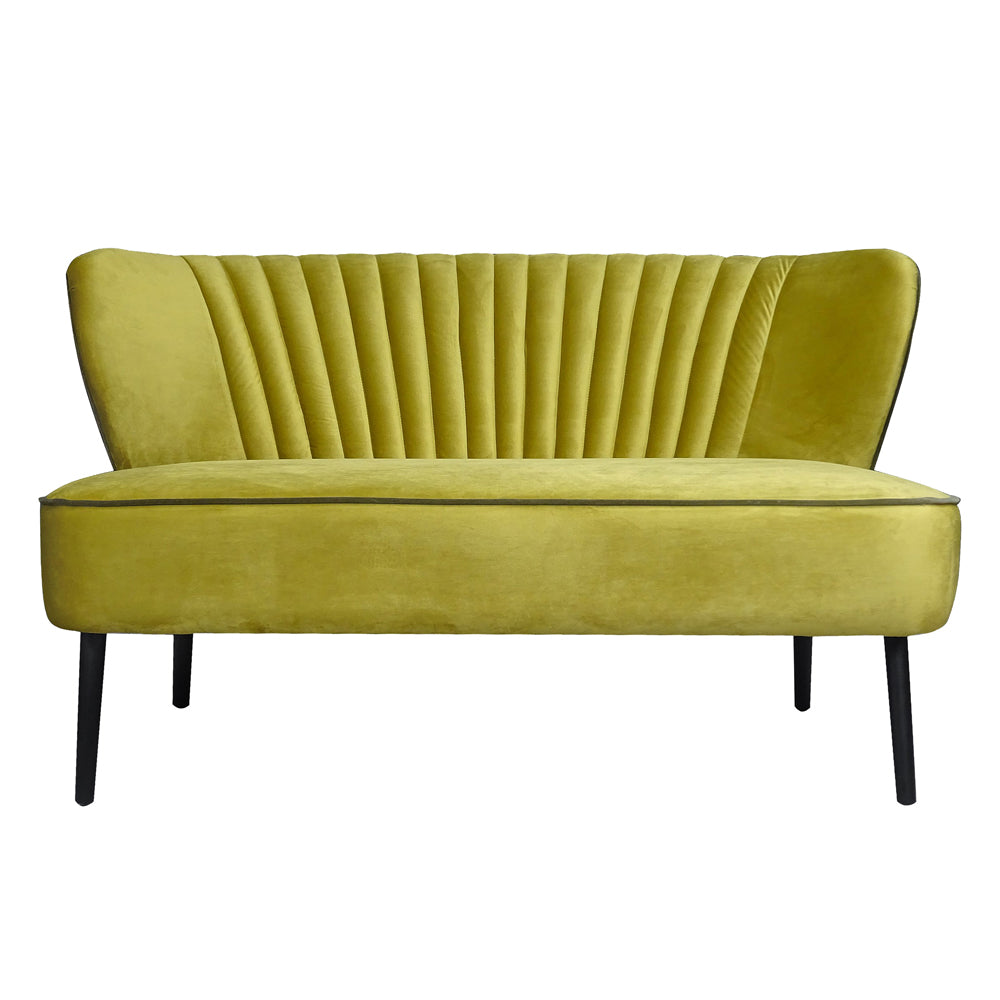 Twiggy Sofa in Pure Gold Velvet
