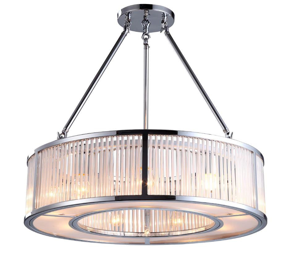 RV Astley Aston Cylinder Nickel Ceiling Light