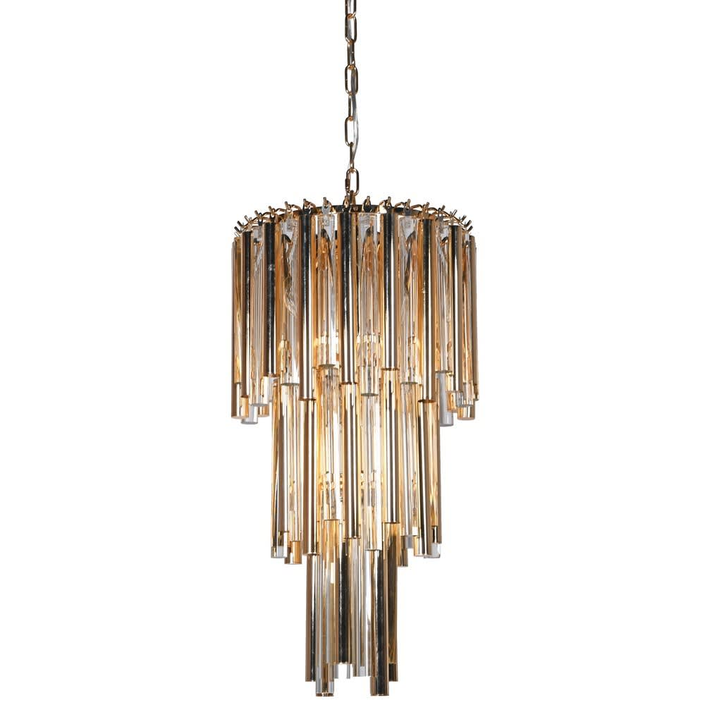 Powell Chandelier in Gold