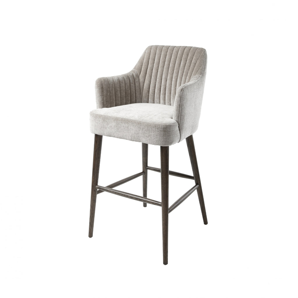 RV Astley Blisco Stool In Latte - Open Box Return