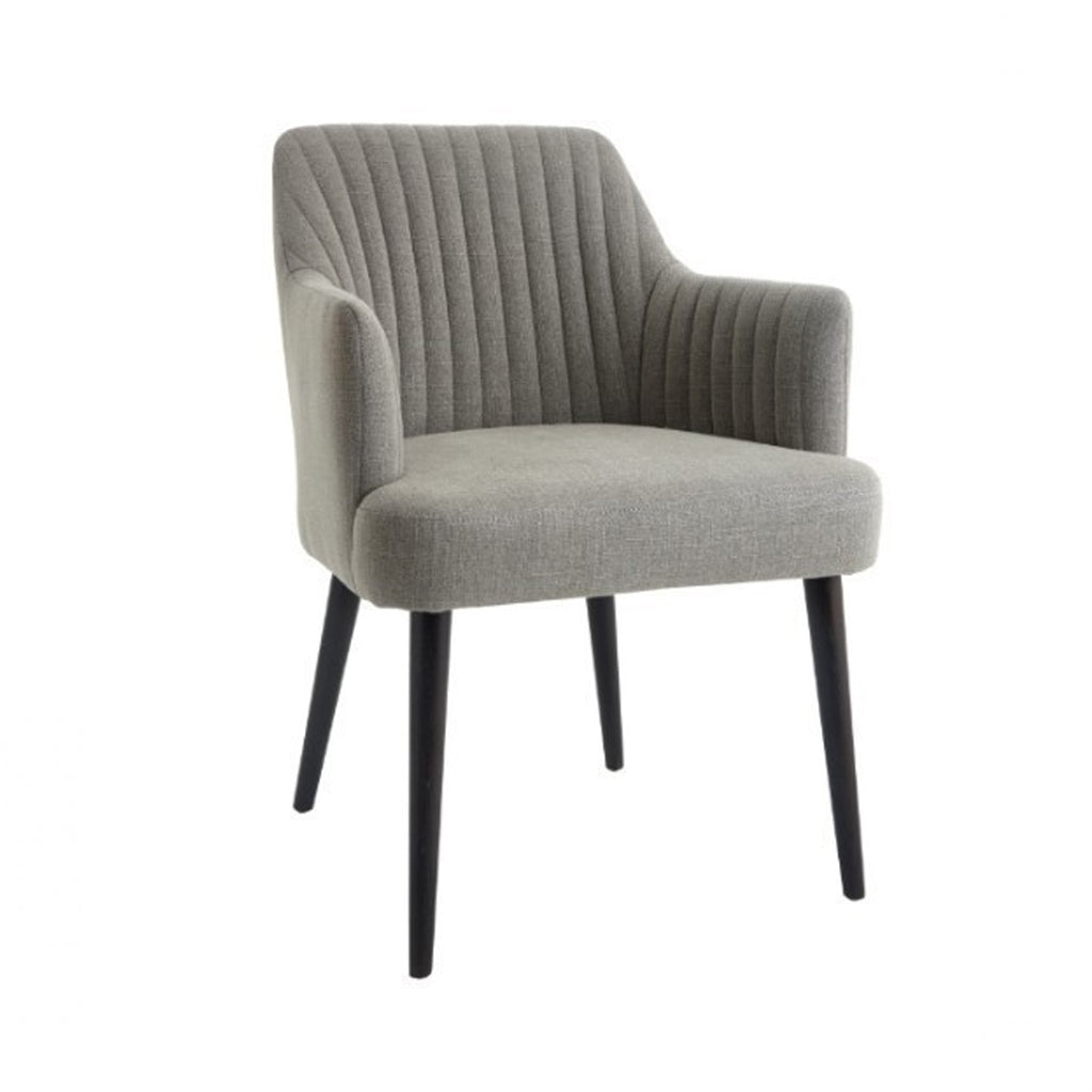 RV Astley Blisco Occasional Chair In Grey Linen