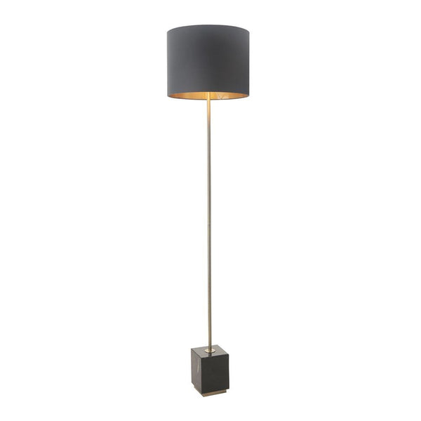 RV Astley Carmel Antique Brass Finish Floor Lamp