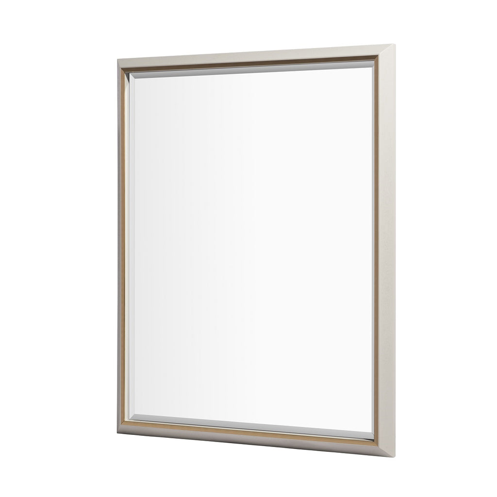 RV Astley Devon Wall Mirror in Pale Grey