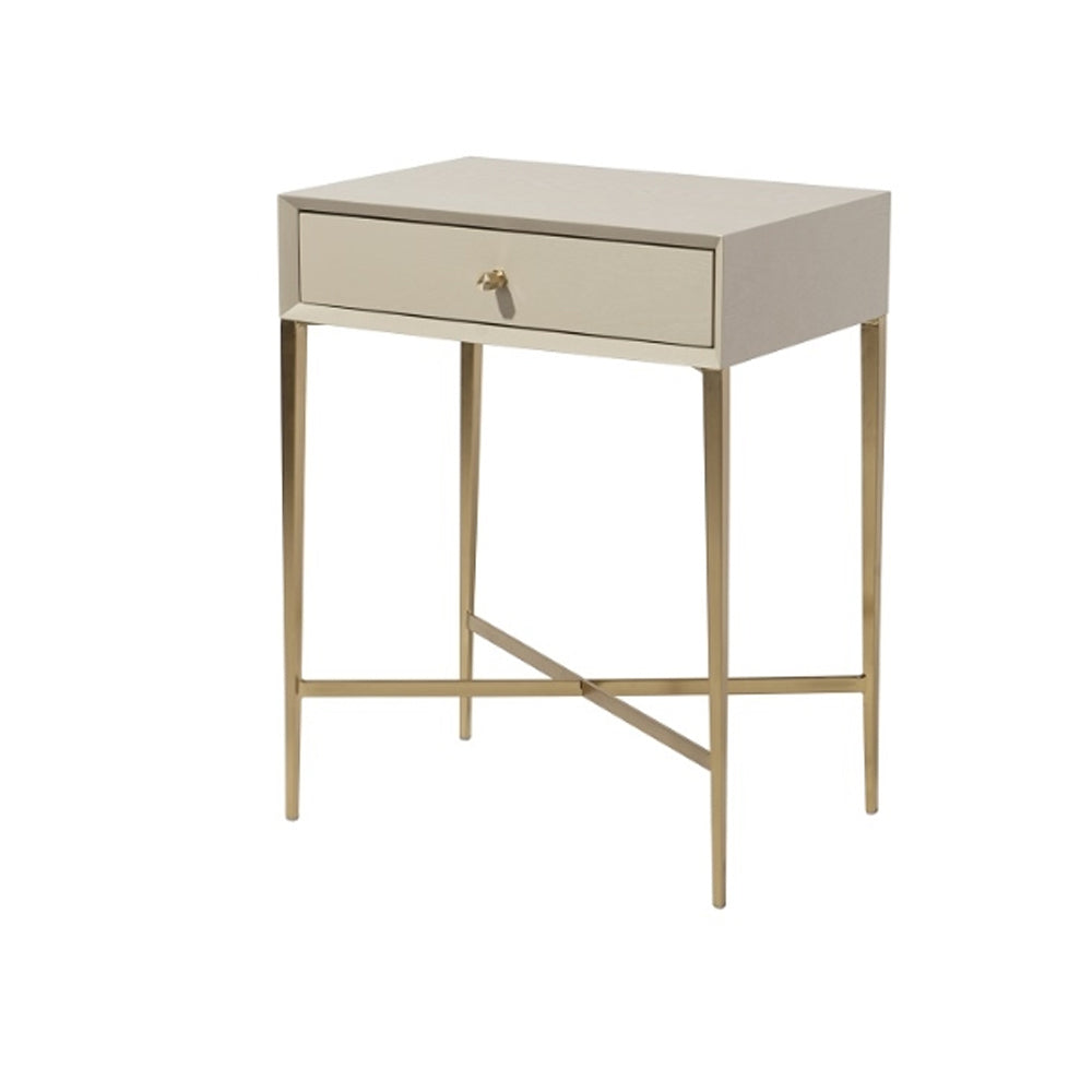 RV Astley Finley Side Table in Ceramic Grey