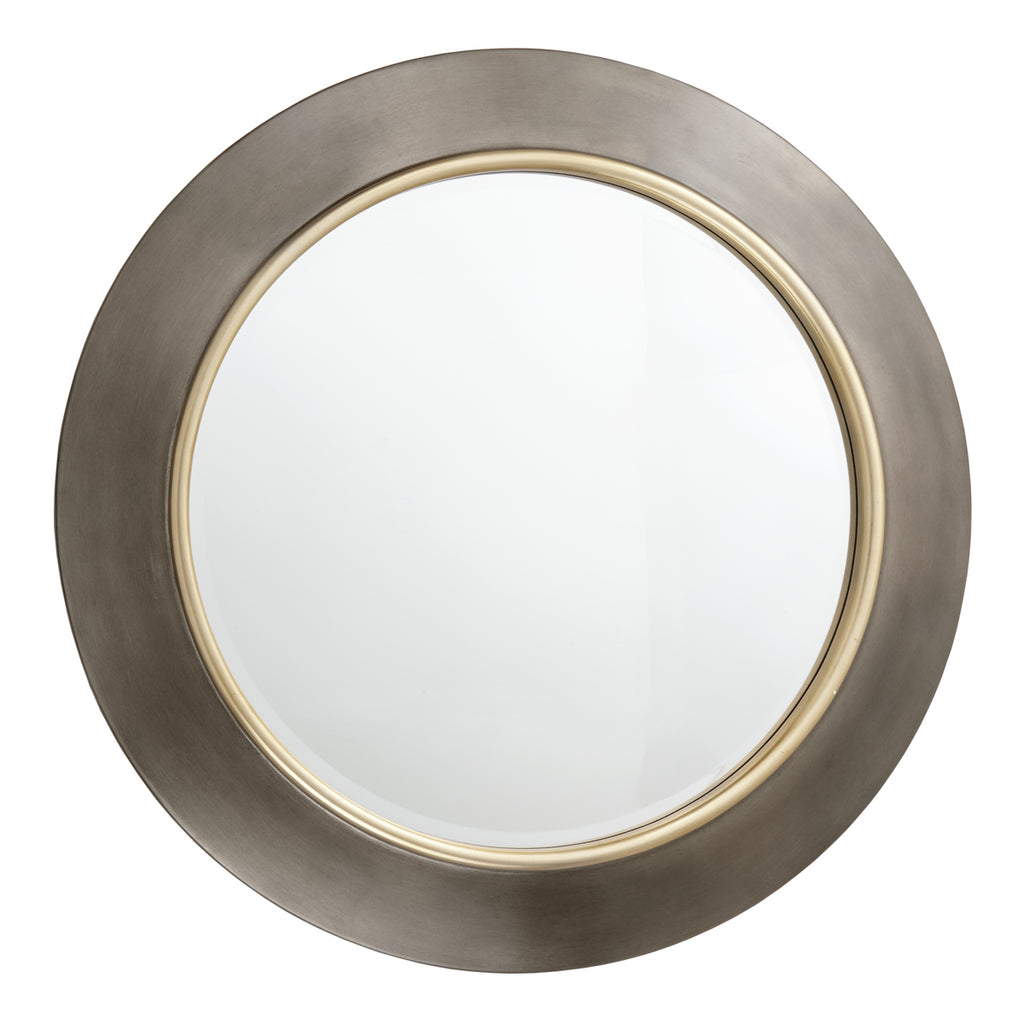 RV Astley Guido Mirror in Brushed Gunmetal