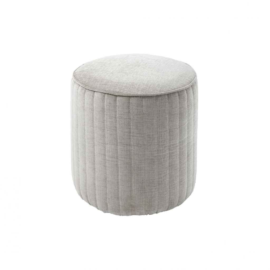 RV Astley Haceby Stool in Latte Chenille