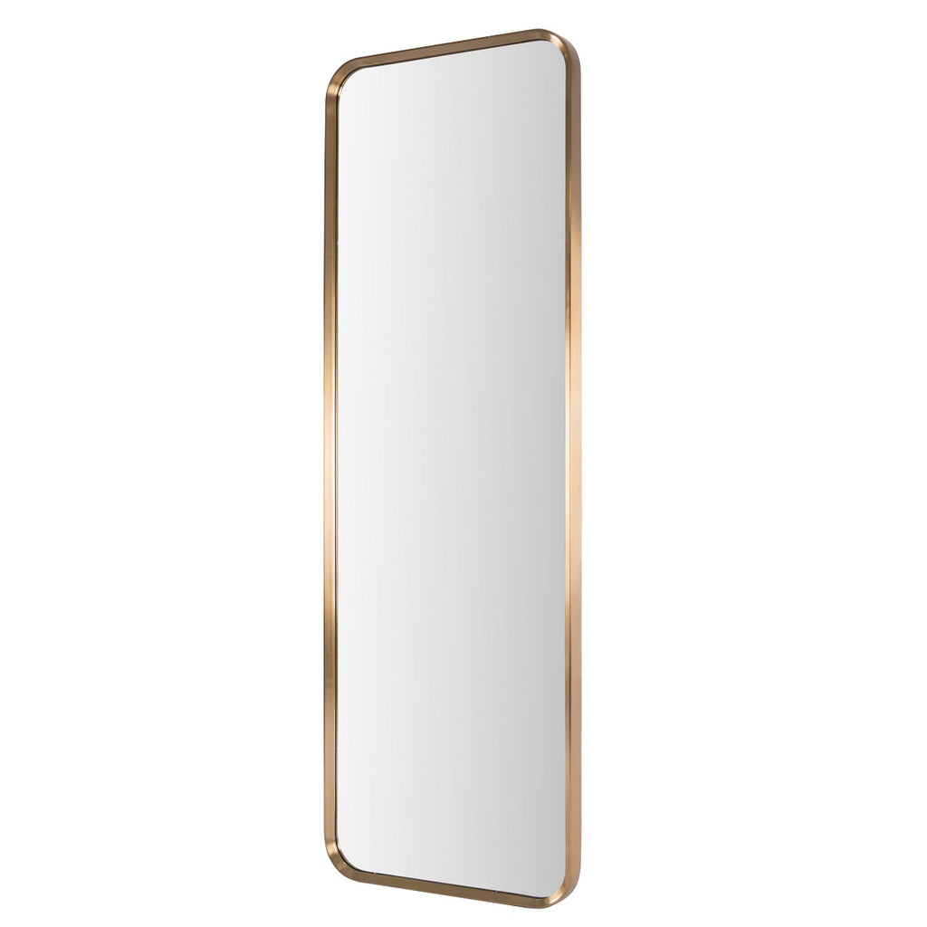RV Astley Madiran Floor Mirror with Brass Finish