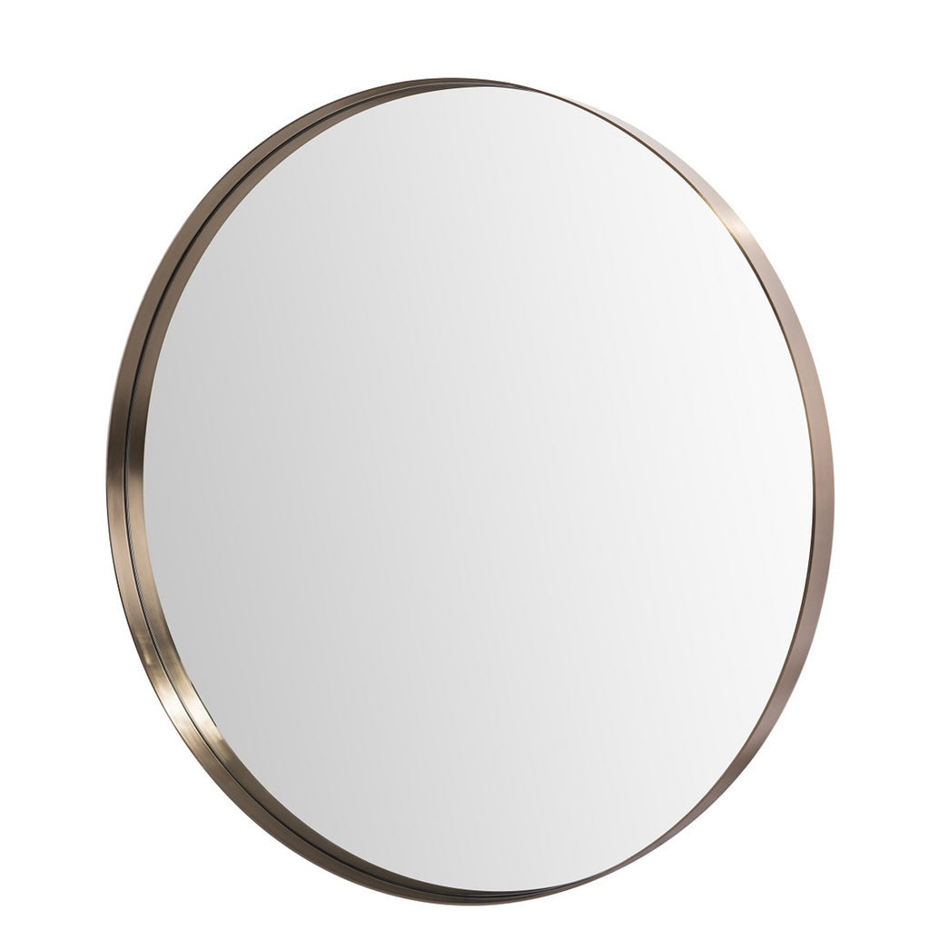 RV Astley Malby Wall Mirror with Bronze Finish