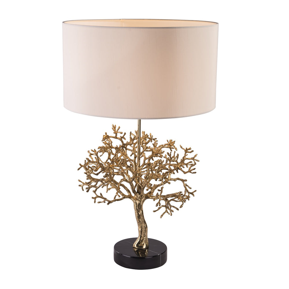 RV Astley Portia Table Lamp with Solid Brass Base - Open Box Return