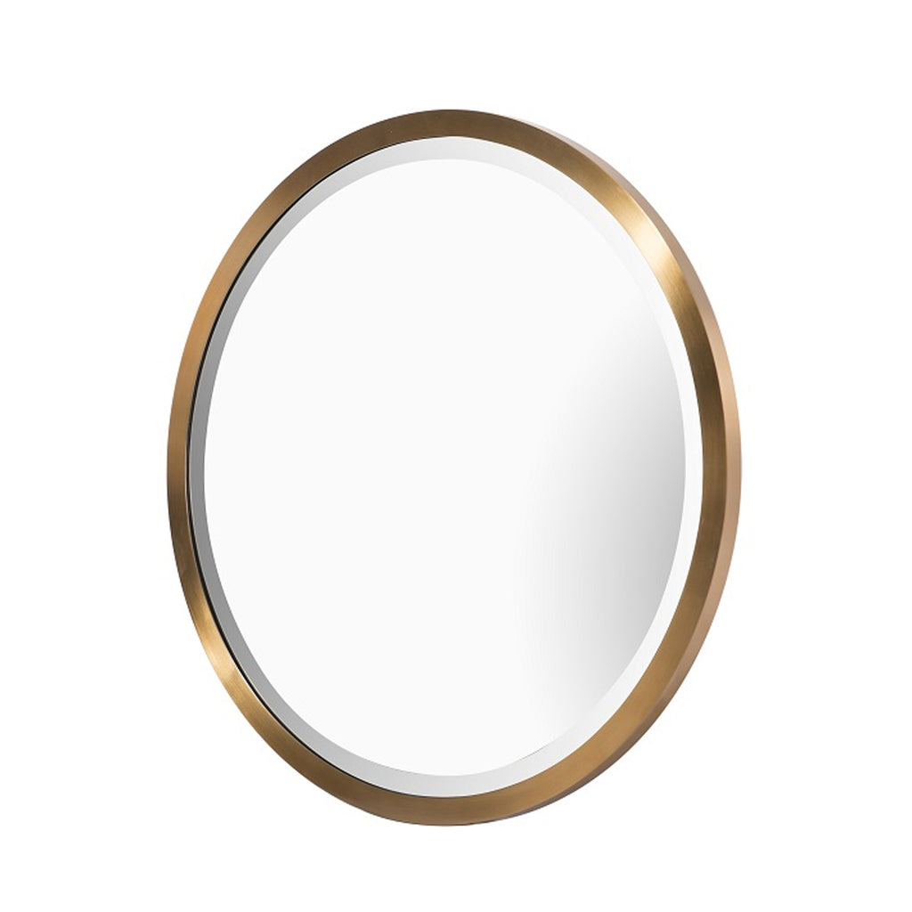 RV Astley Rabou Mirror with Brass Finish