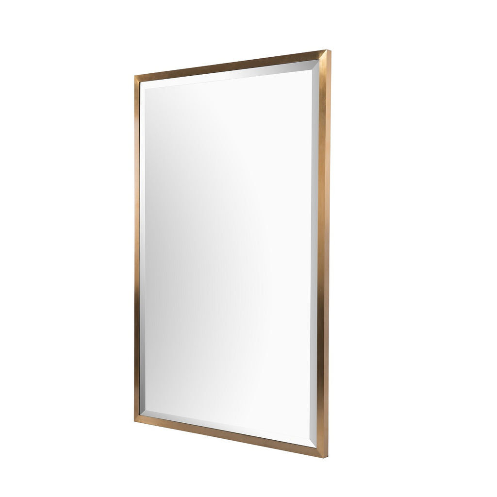 RV Astley Radone Mirror with Brass Finish