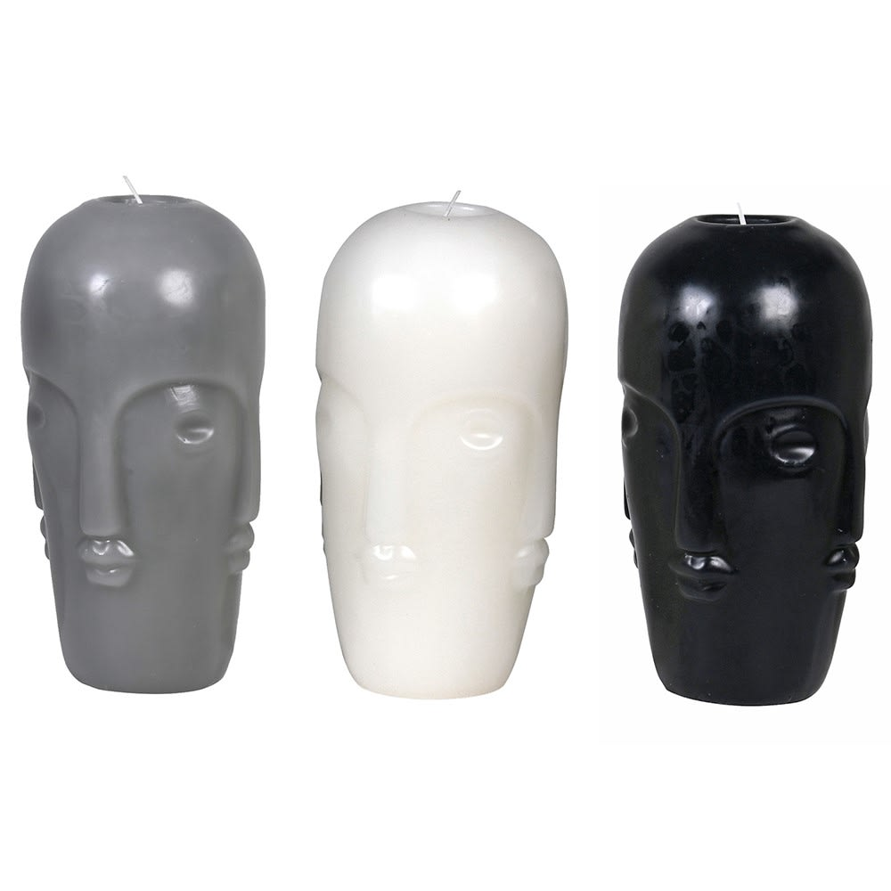 Rapa Three Head Candles