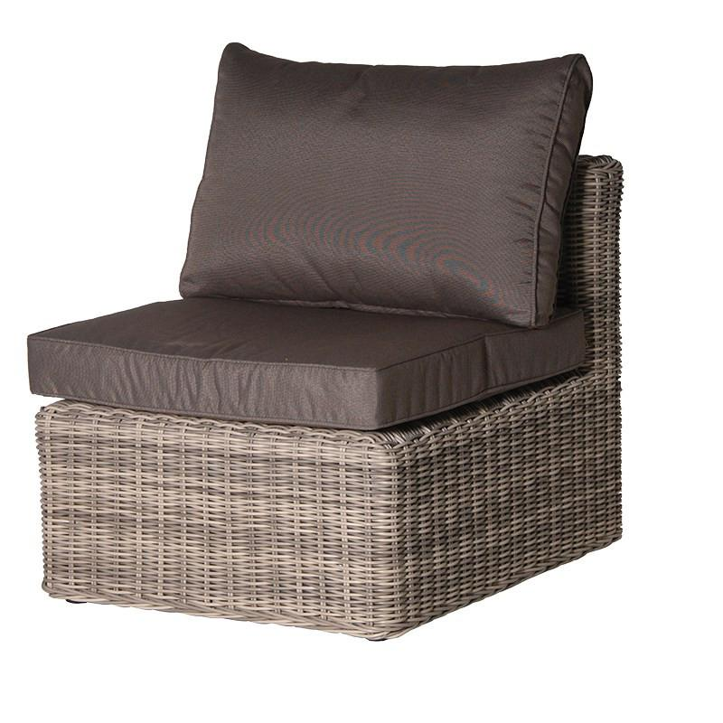 Retreat Rattan Patio Middle Chair
