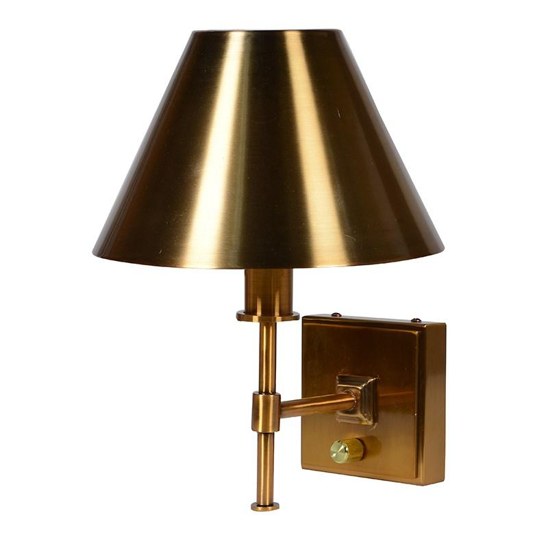 Riora Brass Wall Lamp
