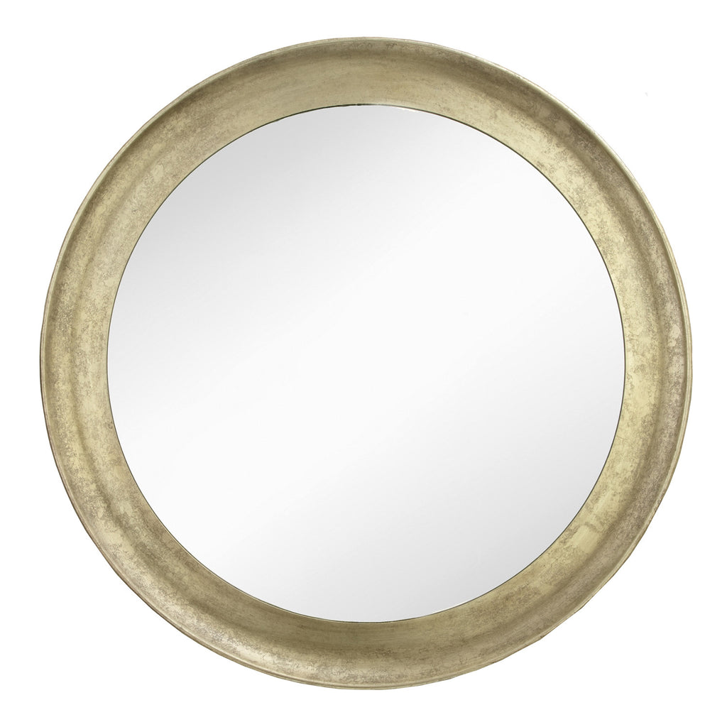 RV Astley Navan Gold Leaf Round Wall Mirror - Second