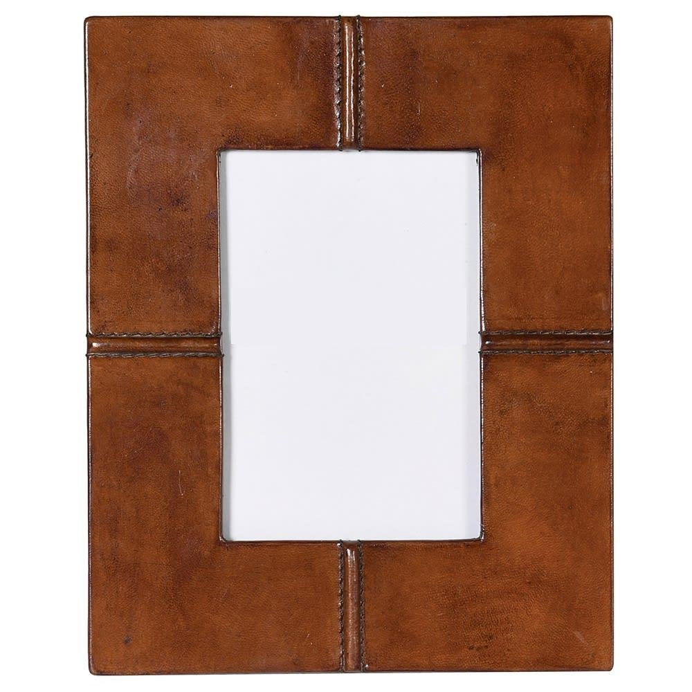 Sandon Photo Frame in Tan Leather