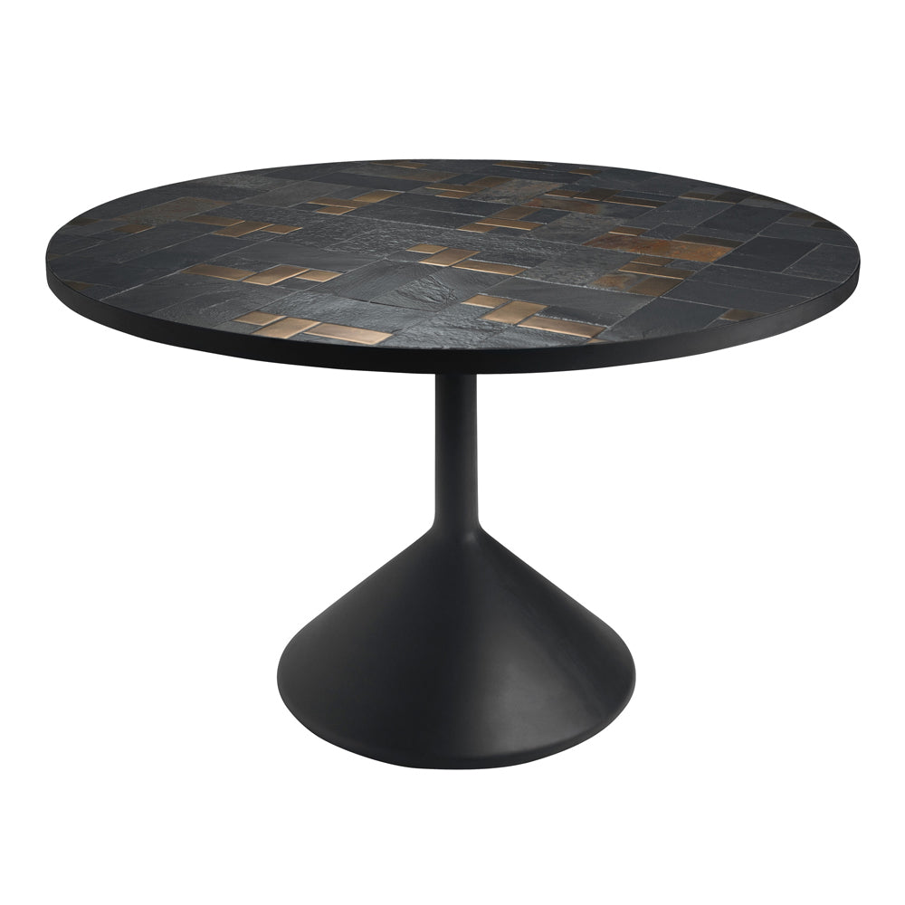 Teuto Dining Table with Slate