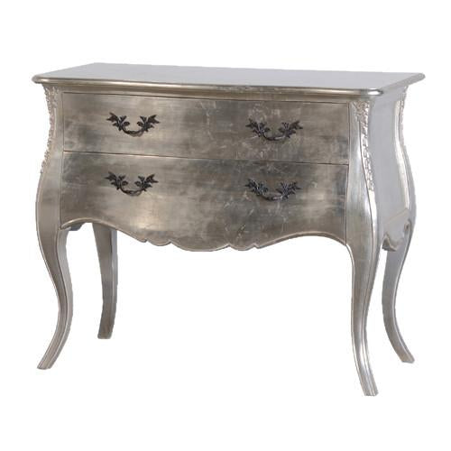 The Hepburn Silver Bombe Chest