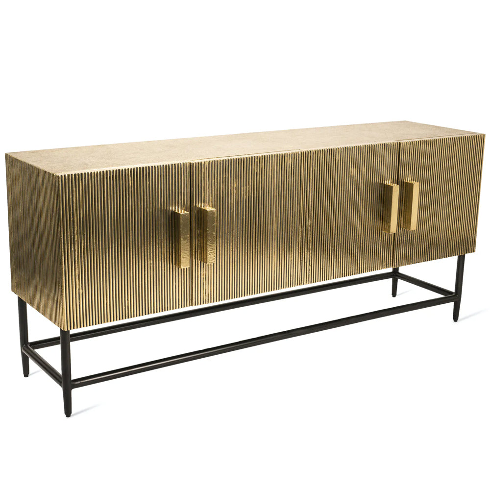 Pols Potten The King Soloman Low Cabinet in Brass - Photoshoot Item