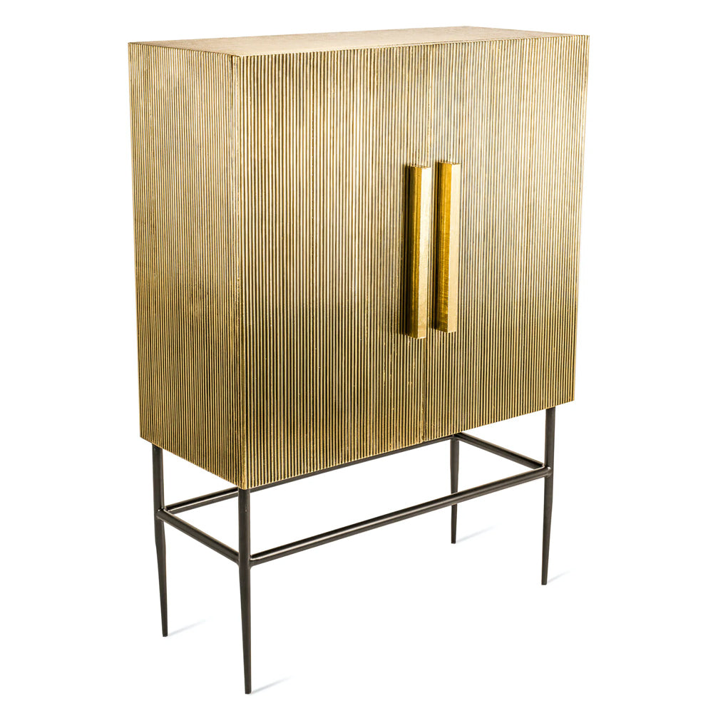 Pols Potten The King Soloman Tall Cabinet in Brass
