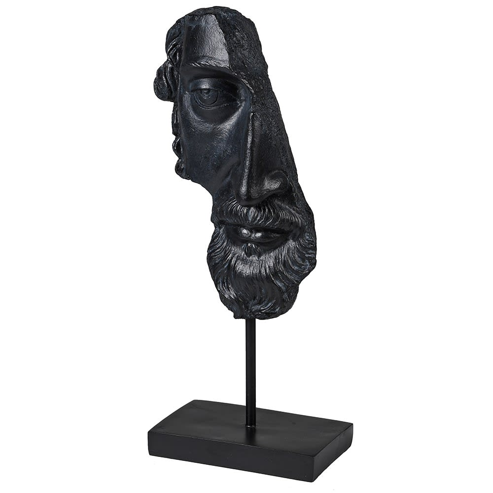 The Philosopher's Face Ornament Fully Cast