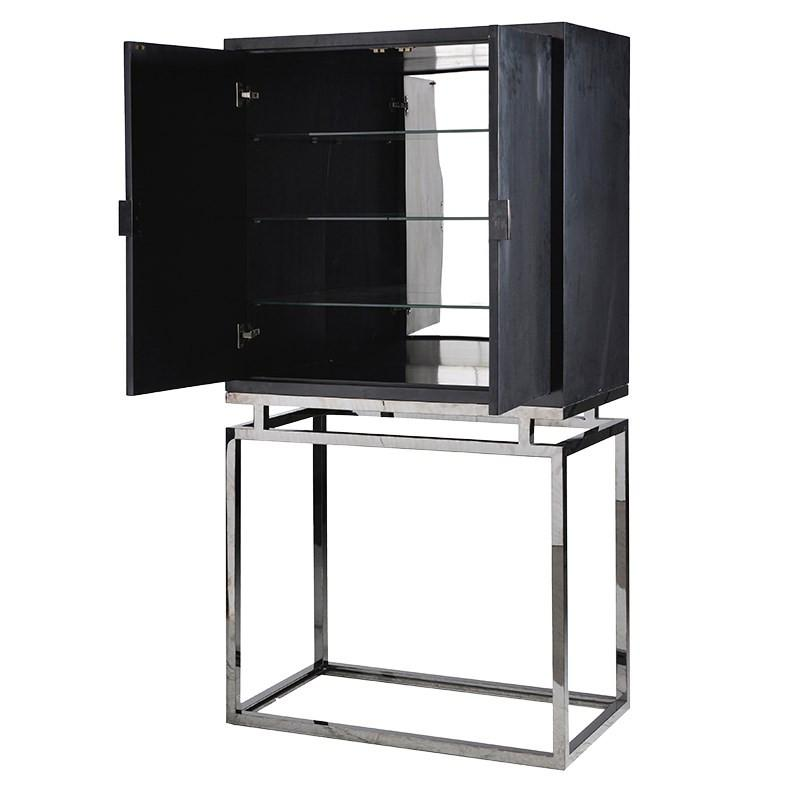 The Sanctum Black Tall Cabinet