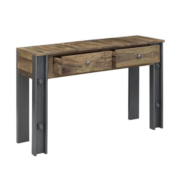 Thomas Telford Steel Girder Industrial Console Table