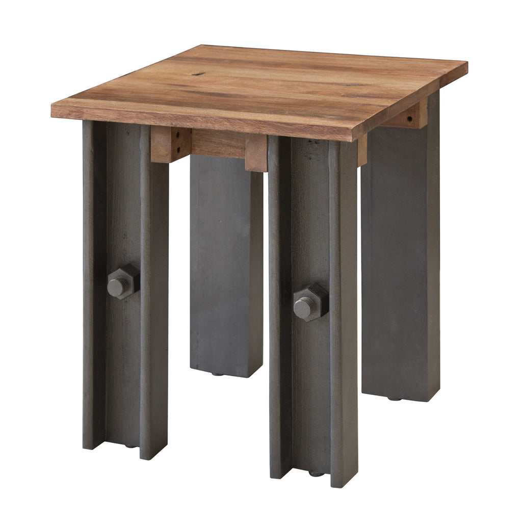 Thomas Telford Steel Girder Industrial Side Table