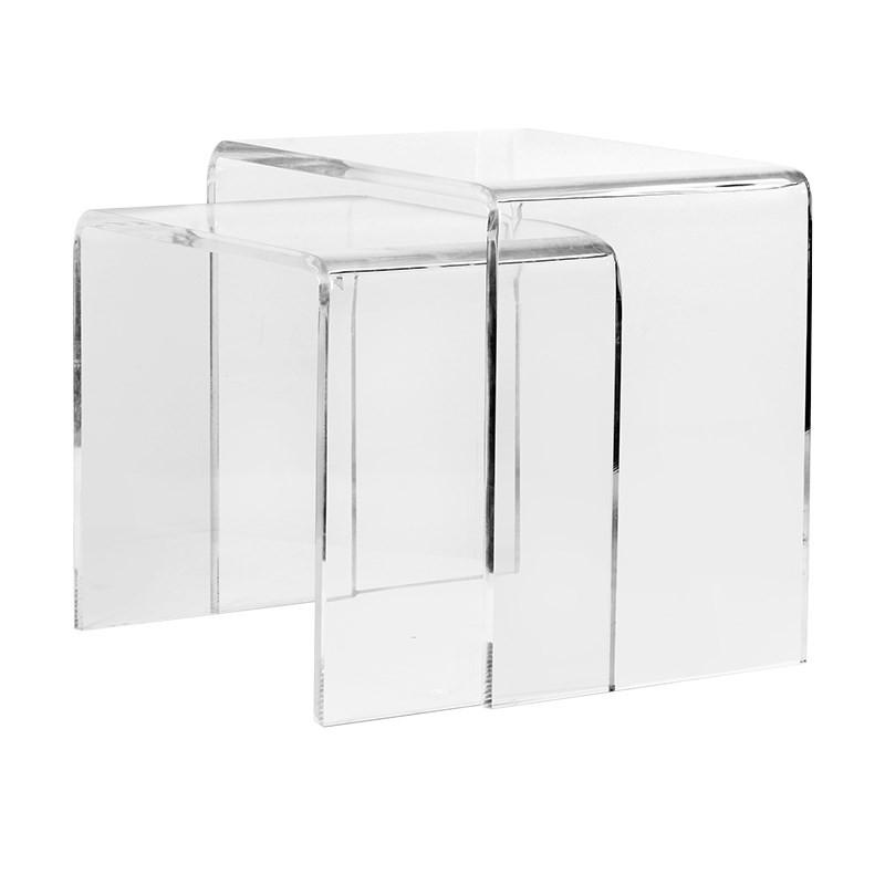 Trance Set of 2 Acrylic Side Tables