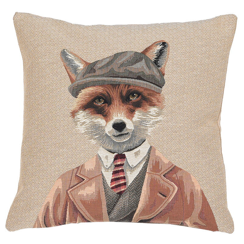 Tweedy Fox Cushion Cover
