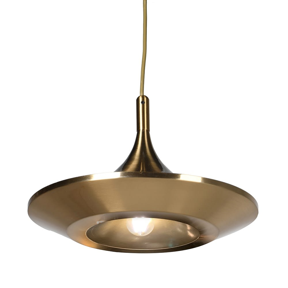 Ulana Pendant Light with Brass Plating