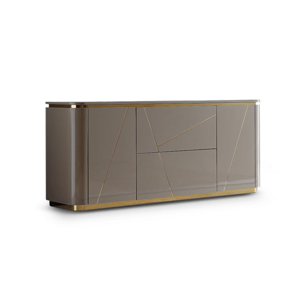 Vegas Sideboard with Gold Inlay