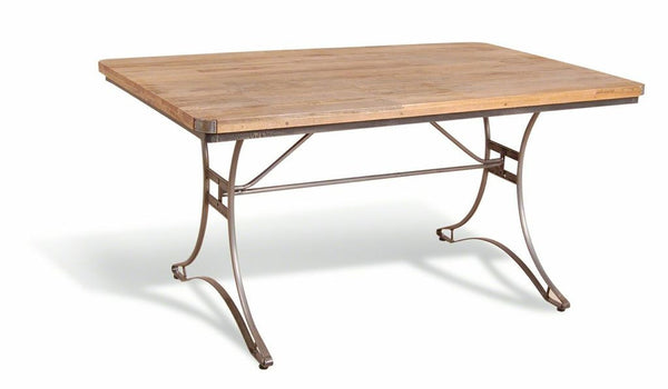 Vintage Industrial Large Dining Table