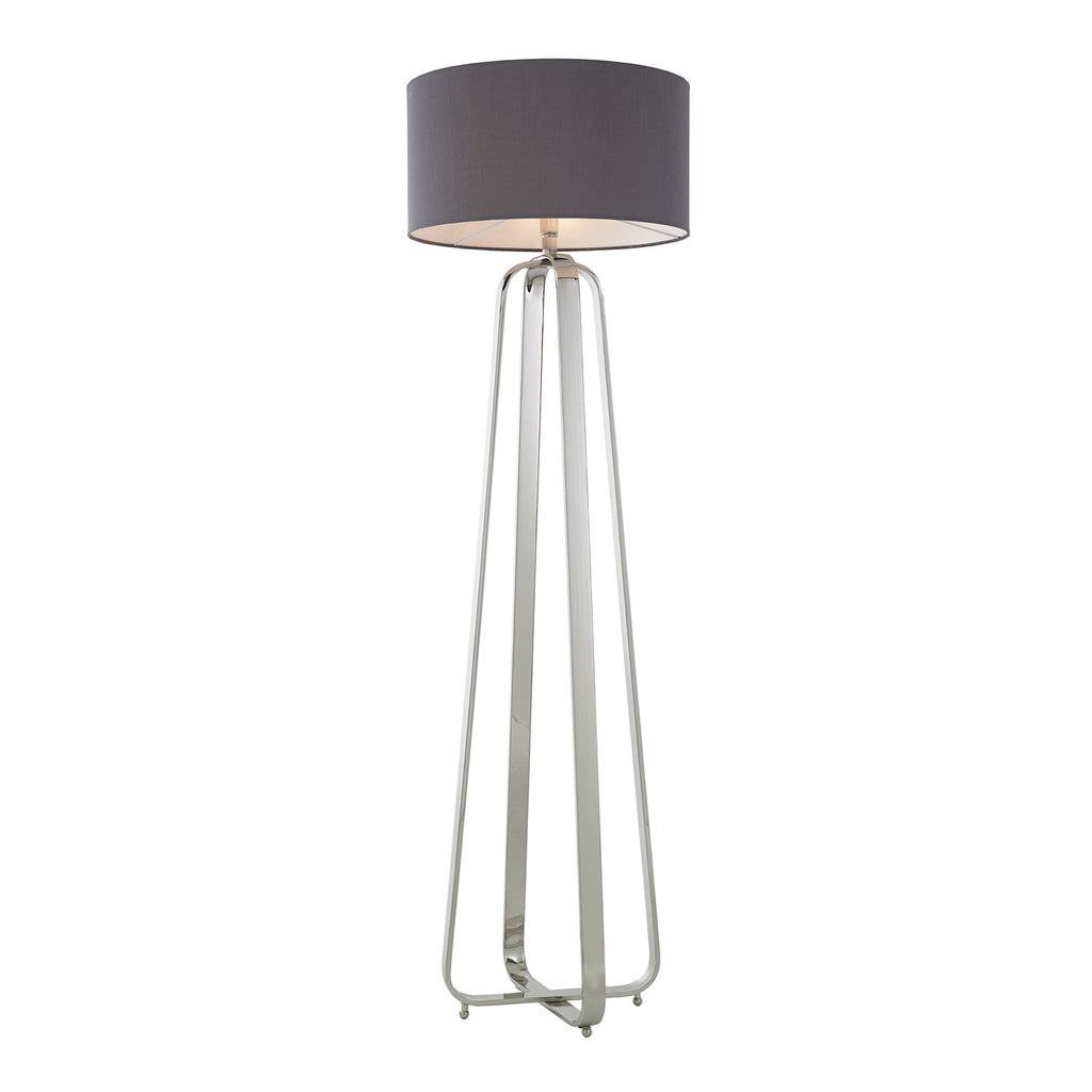 RV Astley Victoria Nickel Floor Lamp