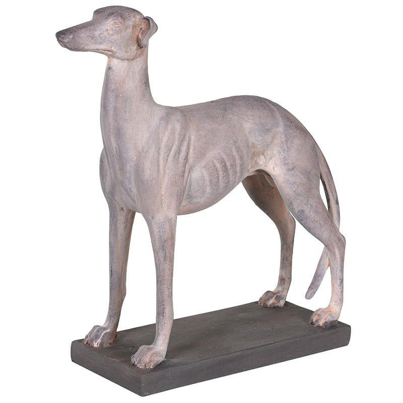 Winston Small Cream Whippet Decoration