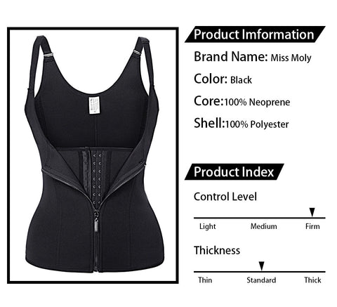 Image of Body Shapes Sauna Sweat Vest