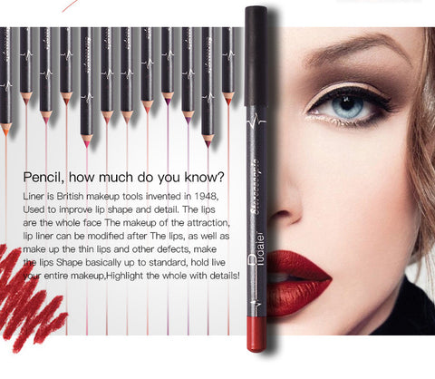 Image of 12 Colors/ Matte Lip Stick Lipliner