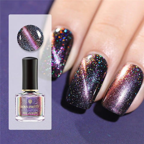 Image of 3D Magnetic Glitter Nail Polish