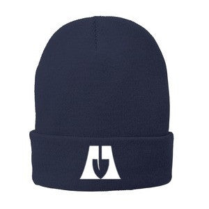 Logo Fleece Lined Knit Beanie