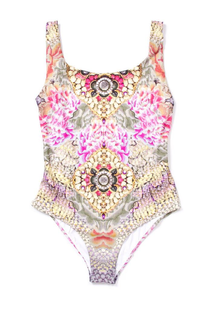 Bejewelled Aria Scoop Swimsuit