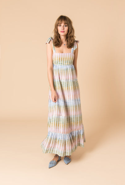 Cosmic Dancer Short Bust Maxi Dress