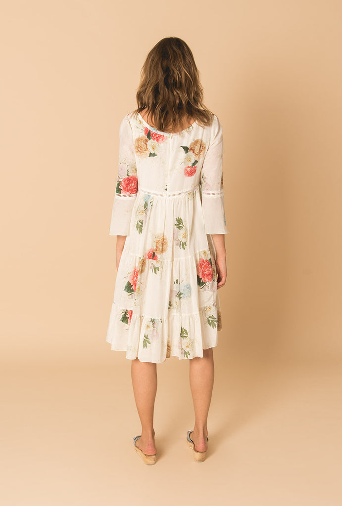 Summer Bloom Frill Dress