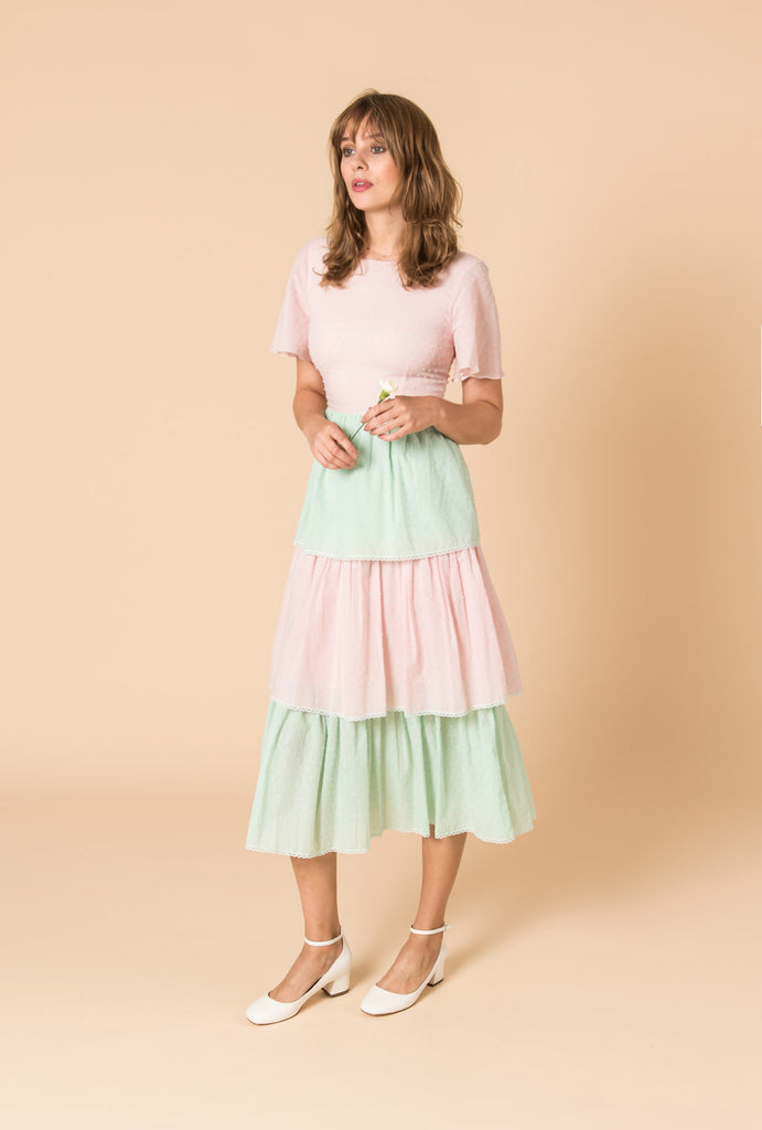 Dust in the Wind Tiered Dress