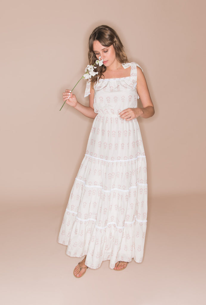 Summer Morning Romantic Tiered Dress
