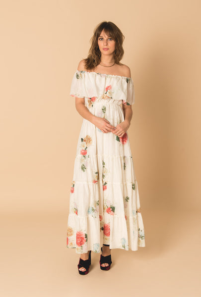 Summer Bloom Gypsy Dress