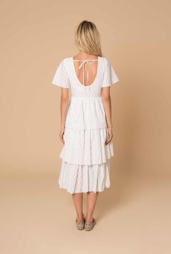 Porcelain Tiered Dress