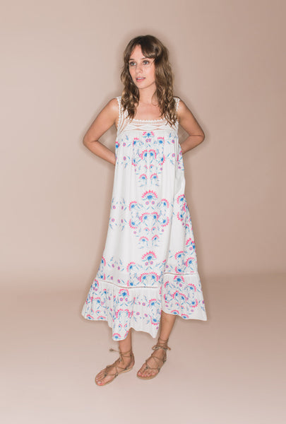 Flower Child Cotton Dress