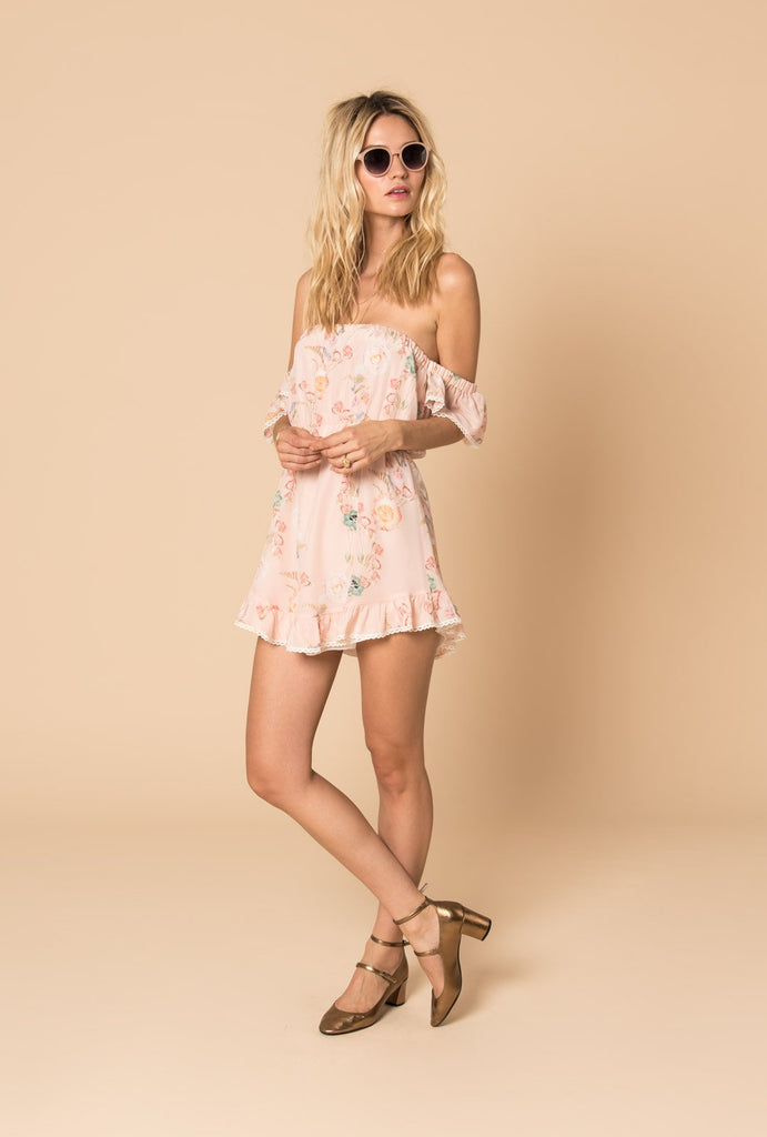 Careless Whisper Short Off Shoulder Dress